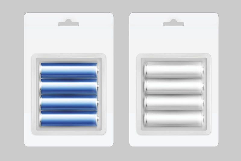 opakowanie z bateriami